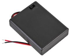 PRO POWER PP002103  Battery Box, 4X Aaa, Switched, Wired